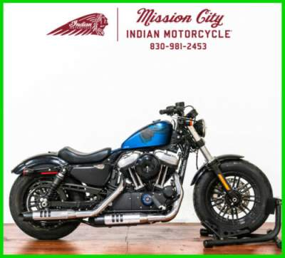 2018 Harley-Davidson Sportster XL1200X - Forty-Eight 115Th Anniversar Legend Blue Denim for sale craigslist