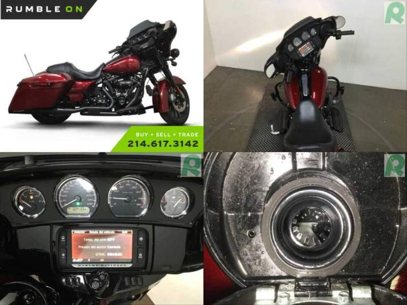 2018 Harley-Davidson Touring CALL (877) 8-RUMBLE Red for sale craigslist