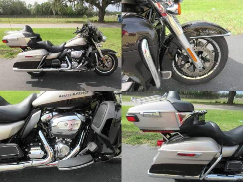 2018 Harley-Davidson Touring Ultra Limited Low Tan for sale craigslist photo