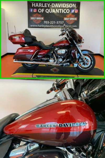 2018 Harley-Davidson Touring Wicked Red / Twisted Cherry for sale craigslist