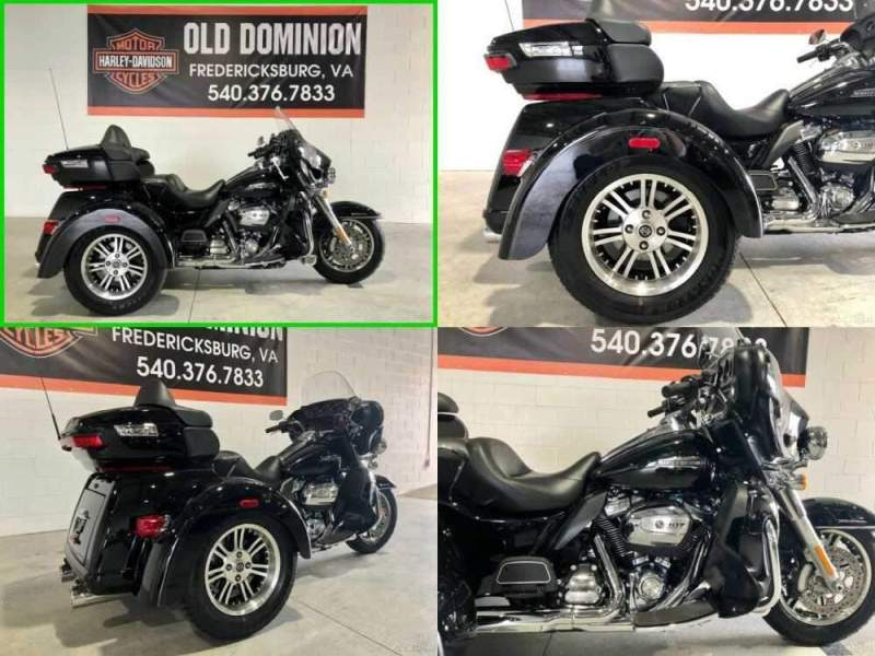2018 Harley-Davidson Trike Tri Glide Ultra Vivid Black for sale