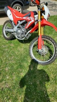 2018 Honda CRF 250L Honda Red/ White for sale