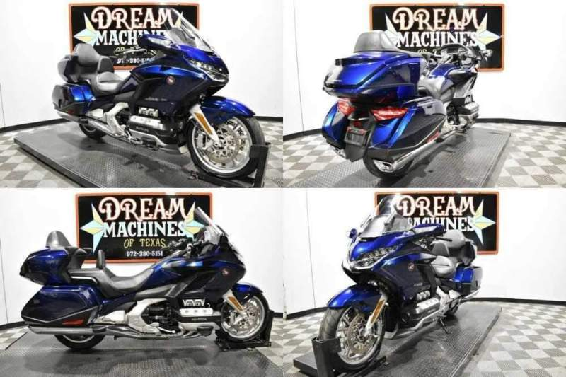 2018 Honda Gold Wing Tour DCT - GL1800D Blue for sale