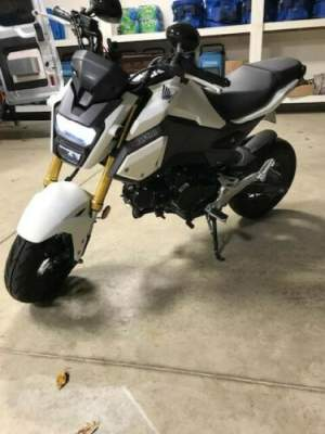 2018 Honda Grom White for sale