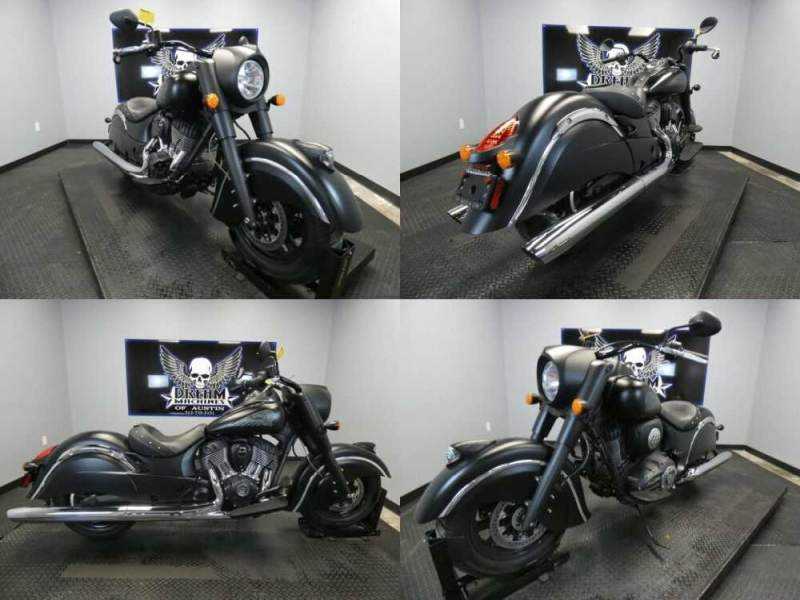 2018 Indian Chief Dark Horse ABS Thunder Black Smoke Black for sale craigslist