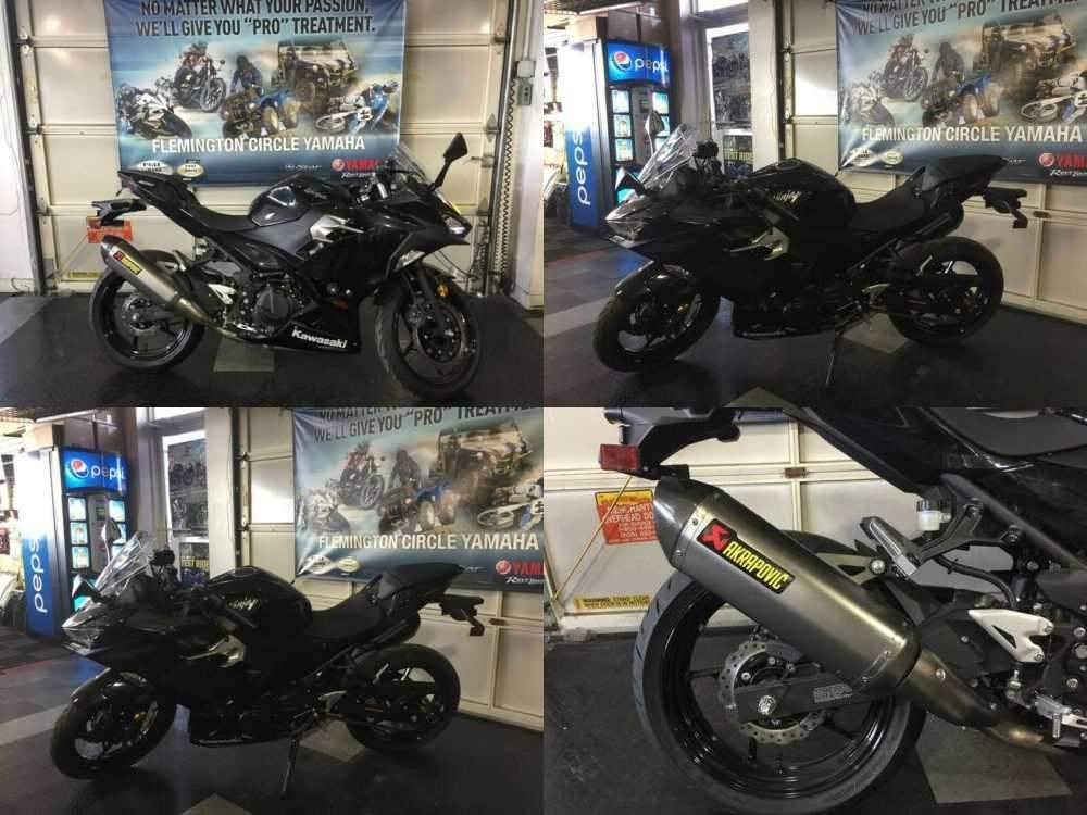 2018 Kawasaki Ninja 400 EX400 Black for sale craigslist