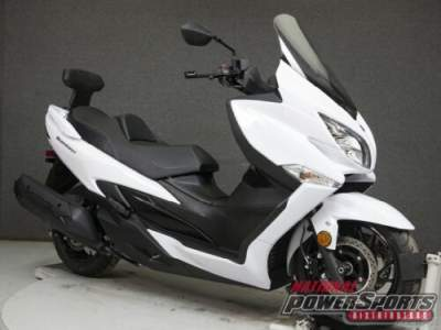 2018 Suzuki AN400 BURGMAN 400 W/ABS White for sale craigslist