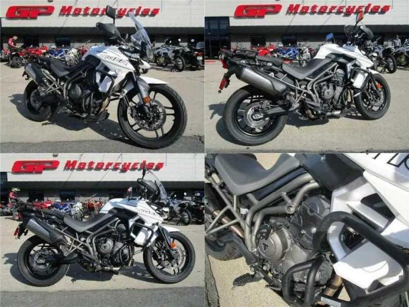 2018 Triumph Tiger 800 XRX Low White for sale craigslist photo