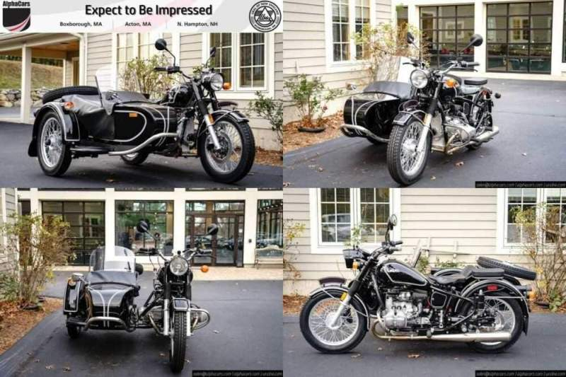 2018 Ural Retro Black Gloss Custom Black for sale