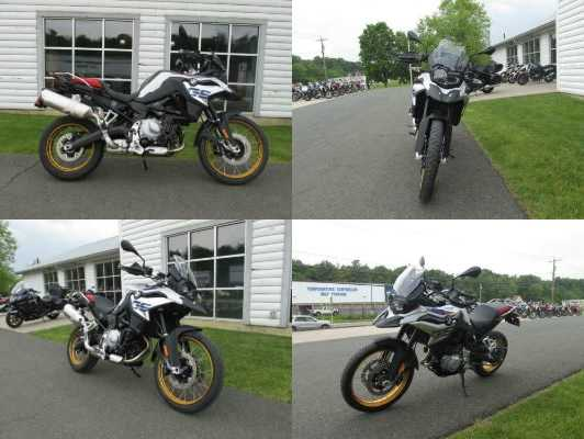 2019 BMW F850GS White for sale
