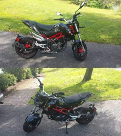 2019 Benelli TNT 135 Black for sale craigslist photo