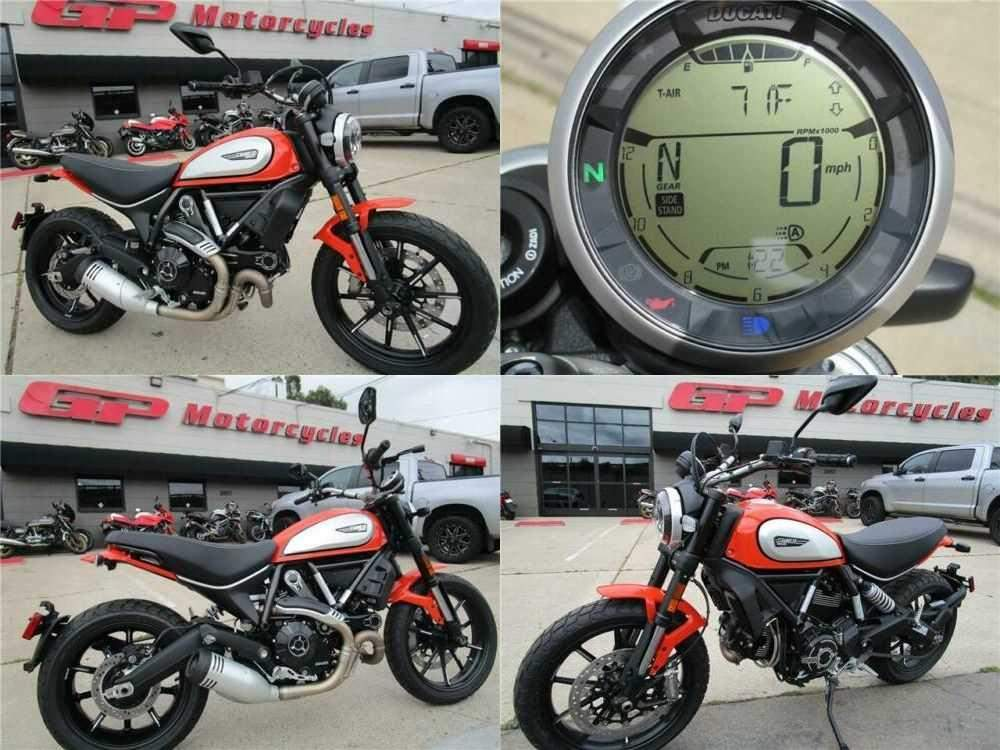 2019 Ducati Scrambler 800 Icon Orange for sale craigslist