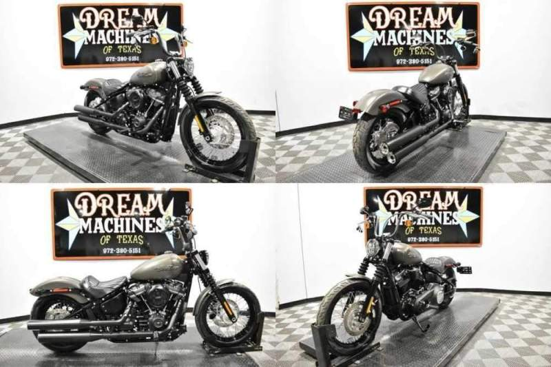 2019 Harley-Davidson FXBB - Softail Street Bob Gray for sale