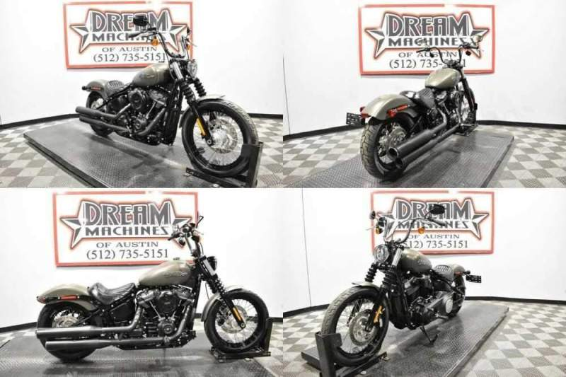 2019 Harley-Davidson FXBB - Softail Street Bob Gray for sale craigslist photo
