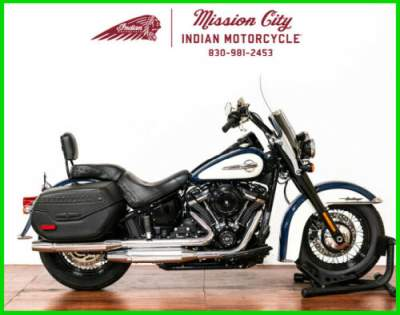 2019 Harley-Davidson Softail FLHC - Heritage Classic Billiard Blue/Billiard White for sale
