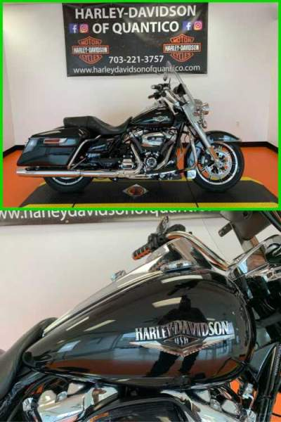 2019 Harley-Davidson Touring Road King Vivid Black for sale craigslist