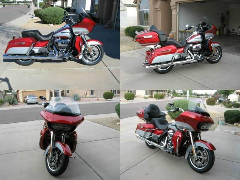 2019 Harley-Davidson Touring Wicked Red & Barracuda Silver for sale craigslist photo