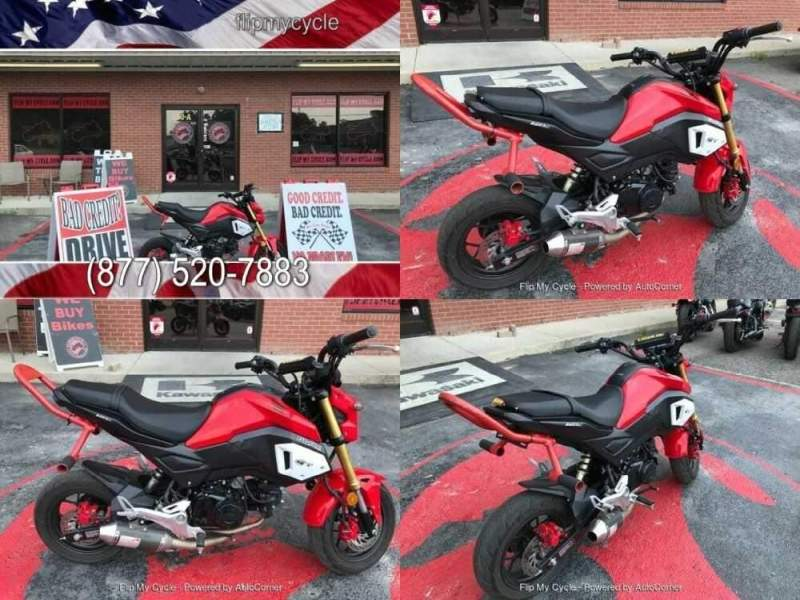 2019 Honda Grom -- Red for sale