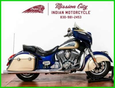 2019 Indian Chieftain Classic Deep Water Metallic / Dirt Trac Deepwater Metallic / Dirt Track Tan for sale