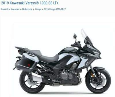 2019 Kawasaki Versys 1000 SE LT KLZ1000DKFX Silver for sale craigslist photo