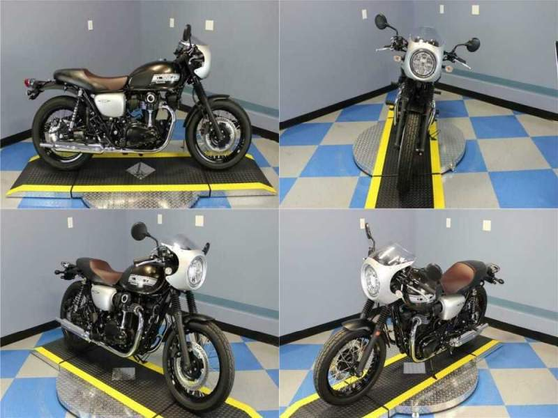 2019 Kawasaki W800 Cafe Guide Gray for sale