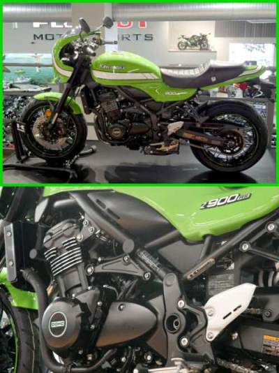 2019 Kawasaki Z900RS Cafe Vintage Lime Green for sale