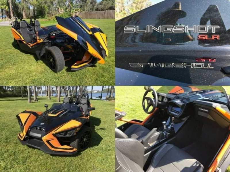 2019 Polaris SLR Orange for sale craigslist photo