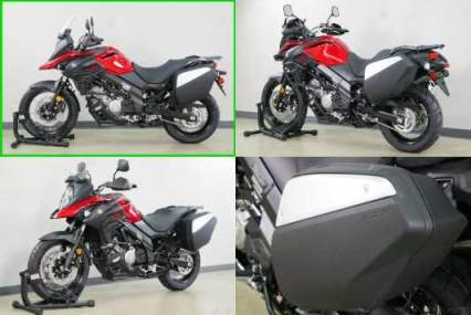 2019 Suzuki V-Strom 650 XT Touring 650 XT Touring Red for sale craigslist