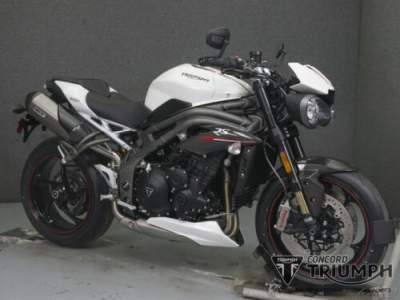 2019 Triumph Speed Triple CRYSTAL WHITE for sale