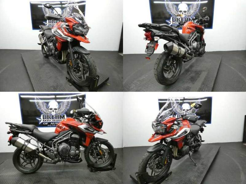 2019 Triumph Tiger 1200 XRT Korosi Red Red for sale craigslist
