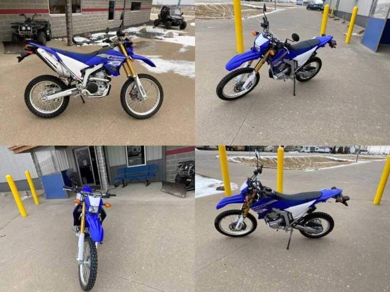 2019 Yamaha WR250R Blue for sale craigslist
