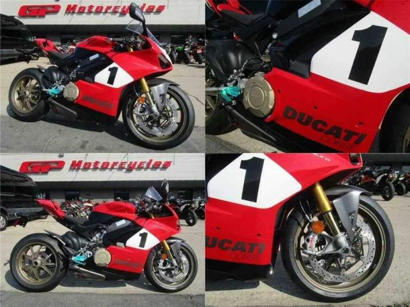 2020 Ducati PANIGALE V4 ANNIVERSARIO Red for sale craigslist