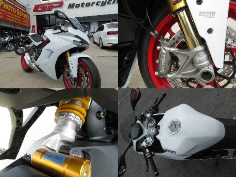 2020 Ducati SuperSport S White for sale craigslist photo