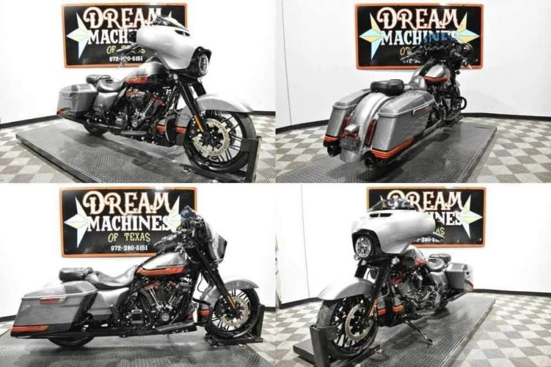 2020 Harley-Davidson FLHXSE - Screamin Eagle Street Glide CVO Gray for sale craigslist
