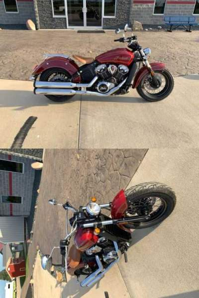 2020 Indian Scout® 100th Anniversary Gold for sale
