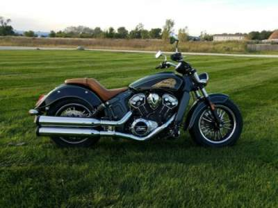 2020 Indian Scout® ABS Metallic Jade/Thunder Black Black for sale