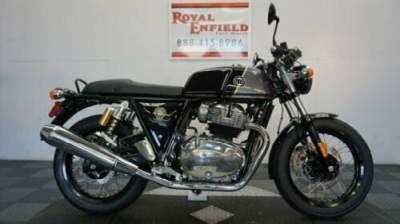 2020 Royal Enfield CONTINENTAL GT 650 3 YEAR WARRANTY Black for sale