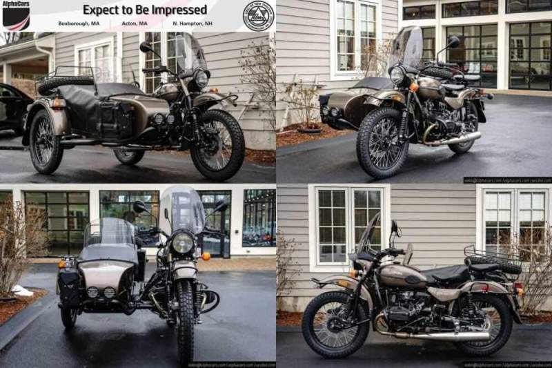 2020 Ural Gear Up Bronze Metallic Custom Bronze Metallic for sale