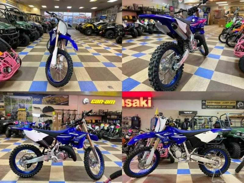 2020 Yamaha YZ125 Blue for sale craigslist photo
