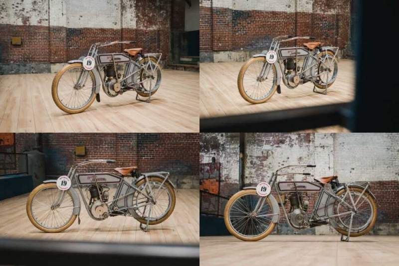 1912 Harley-Davidson 8A Single Gray for sale craigslist