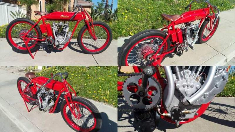 1913 Indian Boardtracker Red for sale craigslist photo