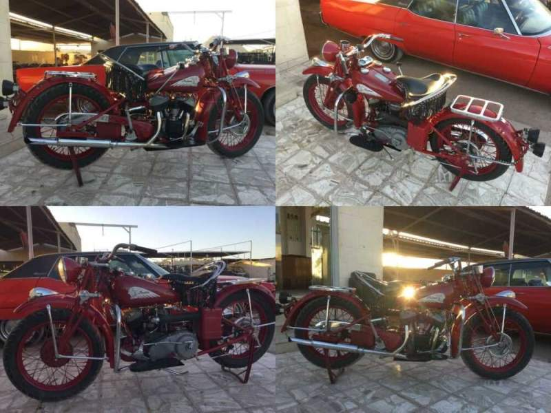 1934 Indian Scout -- for sale craigslist photo