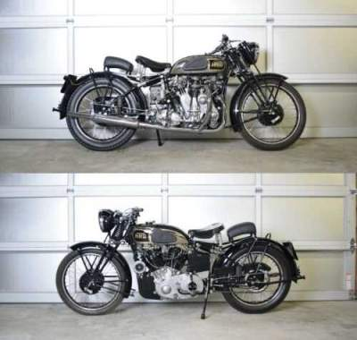 1938 Vincent HRD SERIES A Black for sale