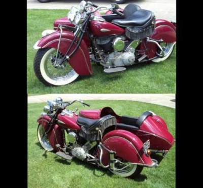 1940 Indian Chief Red for sale craigslist photo