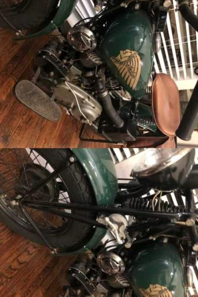 1941 American Classic Motors Indian scout Green for sale craigslist photo