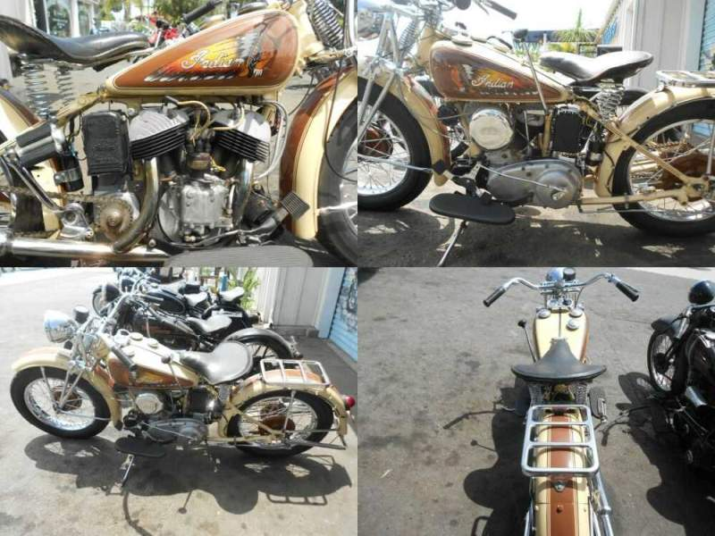 1941 Indian 741 Brown for sale craigslist photo