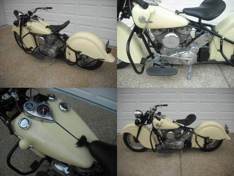 1946 Indian RetroChief  for sale craigslist photo