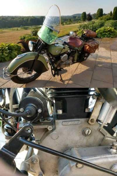 1946 Indian chief Green for sale craigslist photo