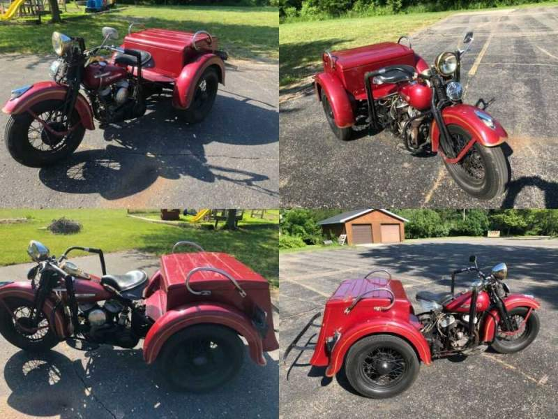 1948 Harley-Davidson Touring Reds for sale craigslist photo