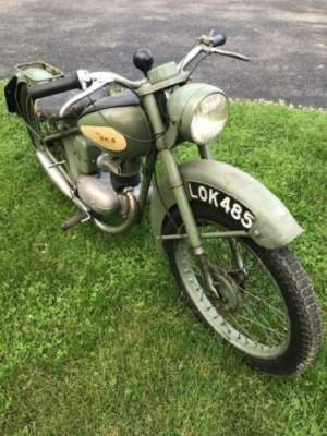 1950 BSA Bantam Green for sale craigslist photo